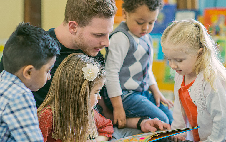 Lesepatinnen/-paten Kindergarten