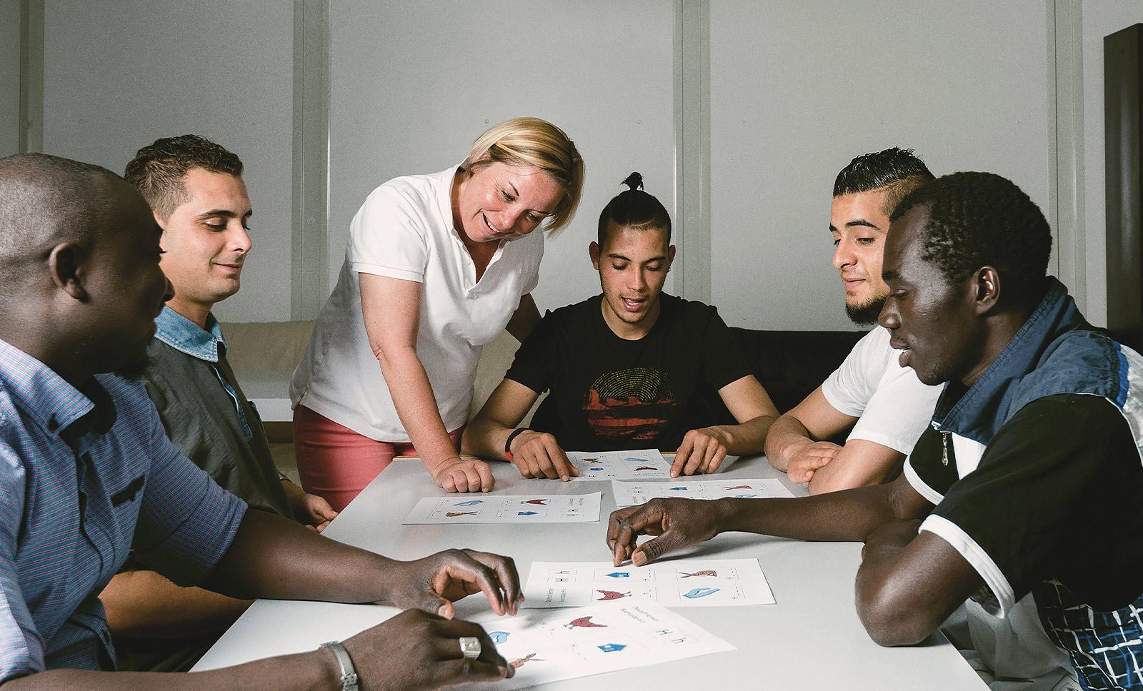 Betreuung und Vernetzung ehrenamtliche Flüchtlingshilfe
